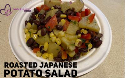 Roasted Japanese Sweet Potato Salad